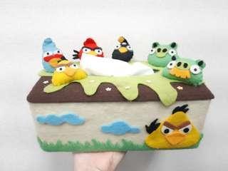 Kotak tissue Angry Bird