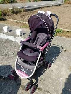 Graco Citi ace 嬰兒雙向推車 粉色