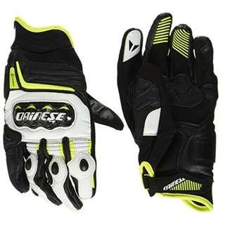 DAINESE D1 Carbon Racing Short Leather Gloves