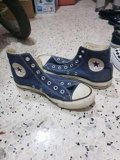 CONVERSE HIGH CUT NAVY BLUE