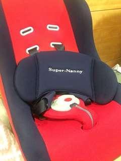 Super Nanny 五點式固定兒童汽車安全座椅
