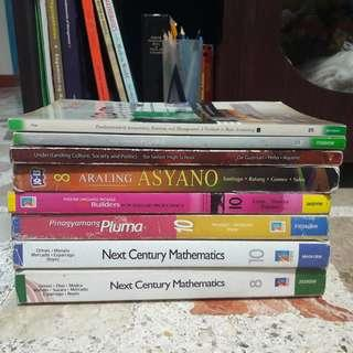 [BUNDLE] Text book for Junior and Senior High School