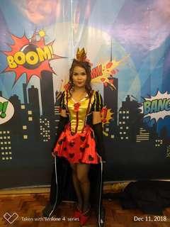 Queen Of hearts Costume for Rent