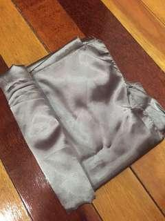 Eyelash Matte Satin Shawl (Inc Postage)