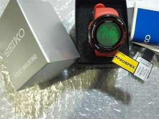 SEIKO 精工表 Prospex 計步手表 SBDE009