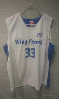 兩件永光校隊籃球衫