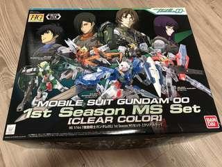 Hg  Gundam 00系列 彩透