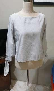 blouse stripe