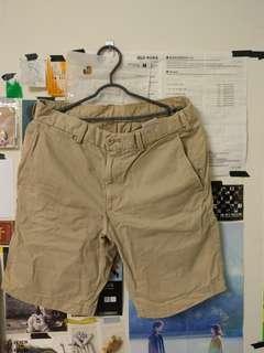 🚚 🚩uniqlo 卡其/靛藍 短褲