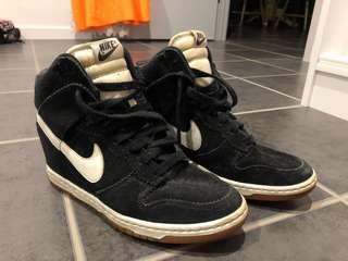 Nike heel high tops