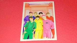 BTS 4th Muster DVD Postcard