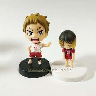 Haikyuu!! Trading figure bundle set- Kozume Kenma/Yaku Morisuke (Nekoma) #MMAR18