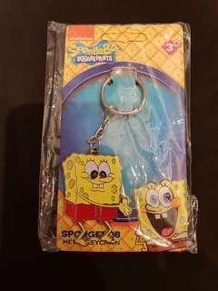 Spongebob Squarepants metal keychain