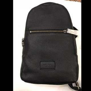 Coach - 3 Way Sling Leather Bag (New)