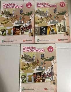 Social study Text book Pri 5A and 5B