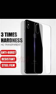 iPhone X Back Tempered Glass Protector