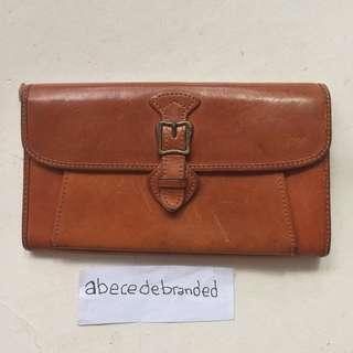 dakote leather long wallet
