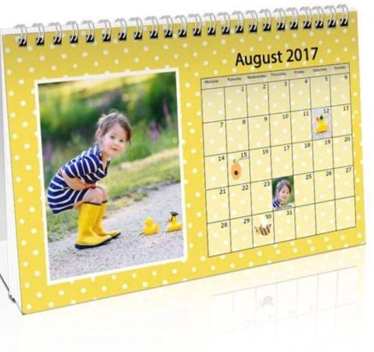2019 Customise Picture Calendar for Personal or corporate
