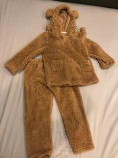 Premium Cute bear costume