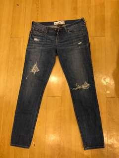 Hollister tattered Jeans