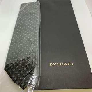 [全新100%真品] Bvlgari tie 名牌 領帶 呔 返工上班見客 男裝男仕禮物 聖誕生日 formal wear gift for men silk