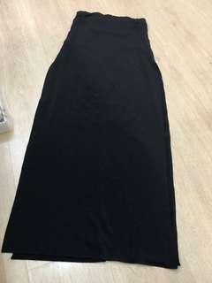 🚚 ZARA 優雅性感長黑裙