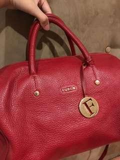 AUTHENTIC FURLA RED BAG