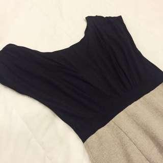 Two Tone Work Dress