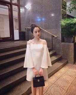 White design dress