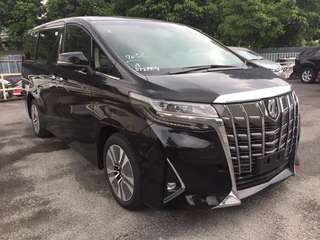 Toyota Alphard 3.5 Grand Luxury