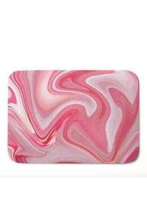 Pink Nordic Style Marble Floormats Carpet Rug Door mats