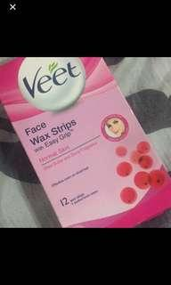 SALE! Veet Face Wax Strips only 2 strips left!