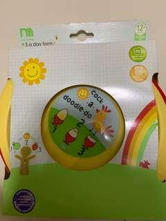 Mothercare 3 microwaveable plates