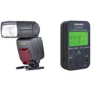 永諾Yongnuo 閃光燈 YN685 x2 + 引閃器 YN622N TX x2 + YN622N II RX x2 for Nikon