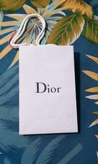 Dior branded paper bag Christian Dior SE LVMH
