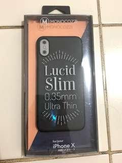 Monocozzi ultra thin case iPhone X
