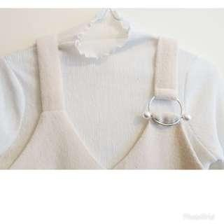 韓國製吊帶裙