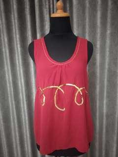 Forever21 Red Tank Top