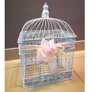Lovely Bird Cage (White)