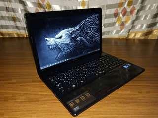 "Lenovo Laptop Core i5 3rdgen 4gb 500gb 15.6"" led wide display"