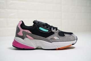 Adidas Originals Falcon W Suede 'Grey / Pink'