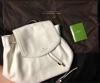 Kate Spade white backpack BRANDNEW