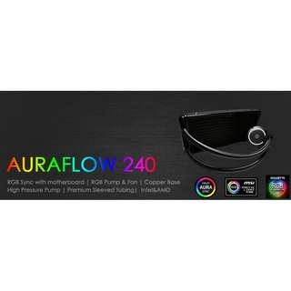 ID-COOLING AURAFLOW X 240 RGB LIQUID COOLER