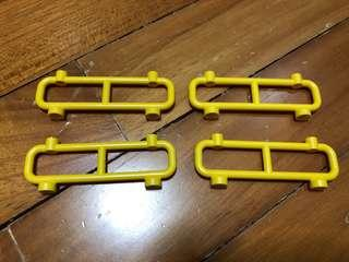 Lego Yellow Fence |NEW|