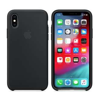 99%NEW iPhone X / XS Silicone Case - Black