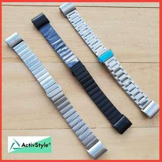 Stainless steel straps for Fitbit Charge 2