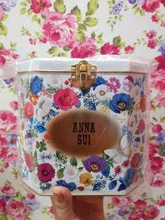New. Anna sui tin box limited edition. Made in japan