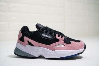 Adidas Originals Falcon W Suede 'Pink / White'