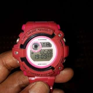 jamtangan submarine colour pink