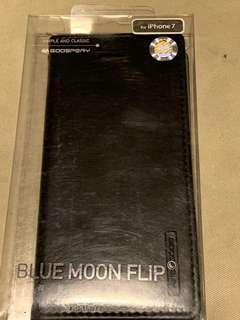 Goospery blue moon flip cover for iPhone 7 in black door